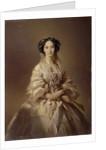 Portrait of Maria Alexandrovna, Empress of Russia by Ivan Kosmich Makarov