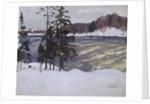 Imatra, 1912 by Arkadi Alexandrovich Rylov