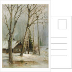 Cottage in the Woods by Alexei Kondratyevich Savrasov