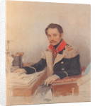 Portrait of Leonty Vasilievich Dubelt, Chief of Staff of the Corps of Gendarmes, 1834 by Pyotr Fyodorovich Sokolov