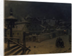 The boyars mansions sleeping, 1918 by Appolinari Mikhaylovich Vasnetsov