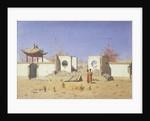 A Chinese Temple Ruin in Akkent, 1869-1870 by Vasili Vasilyevich Vereshchagin