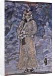 Costume design for the opera Snow Maiden by N. Rimsky-Korsakov, 1890s by Mikhail Alexandrovich Vrubel