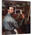Self-portrait, 1917 by Alexander Yevgenyevich Yakovlev