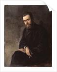 Portrait of the author Gleb Uspensky, 1884 by Nikolai Alexandrovich Yaroshenko