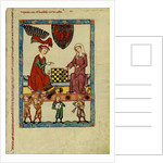 Margrave Otto IV of Brandenburg Playing Chess by Anonymous