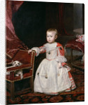 Portrait of Infante Philip Prospero, Prince of Asturias (1657-1661) by Diego Velazquez