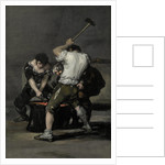 The Forge, c. 1815 by Francisco de Goya