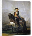 Equestrian Portrait of Charles IV of Spain by Francisco Goya