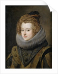 Portrait of Maria Anna (1606-1646), Infanta of Spain by Diego Velazquez