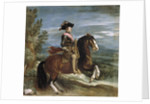 Equestrian Portrait of Philip IV of Spain by Diego Velazquez