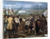 The Surrender of Breda (Las lanzas) by Diego Velazquez
