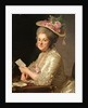 Portrait of Marie Emilie Cuivilliers, née Boucher, 1779 by Alexander Roslin