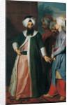 Mustapha Aga and his Retinue, 1730s by Georg Engelhard Schroeder