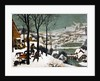 Hunters in the Snow (Winter) by Bruegel