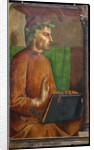 Portrait of Dante Alighieri (1265-1321) by Justus van Gent