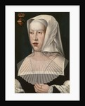 Portrait of Margaret of Austria, Early16th cen by Bernaert van Orley