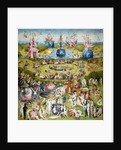 The Garden of Earthly Delights (Central panel) by Hieronymus Bosch