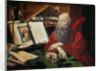 Saint Jerome by Marinus Claesz van Reymerswaele