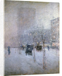 Late Afternoon, New York, Winter by Childe Hassam