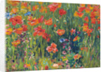Poppies by Robert William Vonnoh