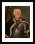 Portrait of Augustus III of Poland by Anonymous