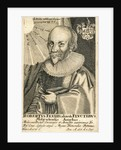 Portrait of Robert Fludd, 17th century by Anonymous