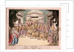 Es lebe Sarastro. The premiere of The Magic Flute by Mozart, 1790s by Anonymous