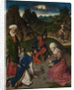 The Last Supper altarpiece: The Gathering of Manna (right wing), 1464-1468 by Dirk Bouts
