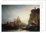Venice at night, 1856 by Alexei Petrovich Bogolyubov