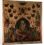 The Dormition of the Virgin, ca 1479 by Russian icon