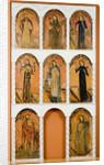 The Altarscreen panels, ca 1825 by Antonio Molleno