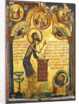 Saint John the Forerunner with scenes from his life, 13th century by Byzantine icon