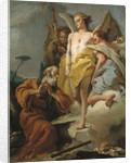 Abraham and the Three Angels, ca 1770 by Giandomenico Tiepolo