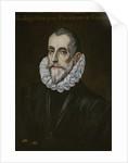 Portrait of Rodrigo Vázquez de Arce, First third of 17th cen by Dominico El Greco