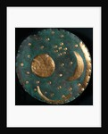 The Nebra Sky disk, ca. 1600 BC by Prehistoric art