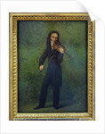 Portrait of Niccolò Paganini, 1830-1831 by Georg Friedrich Kersting