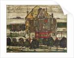 Single Houses, 1915 by Egon Schiele