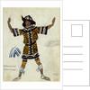 Costume design for the ballet Daphnis et Chloé by M. Ravel, 1912 by Léon Bakst