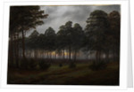 The times of day: The evening, 1821-1822 by Caspar David Friedrich