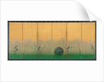 The plain of Musashi, ca 1760 by Anonymous