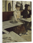 In a Café (Absinthe), 1873 by Edgar Degas