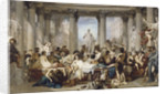 Romans during the Decadence, 1847 by Thomas Couture