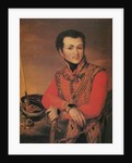 Portrait of Artemy Lazarev, Staff ride master of the Life-Guards Hussar Regiment, 1820s by Anonymous