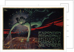 International Exposition of Electricity, Marseille, 1908 by David Dellepiane