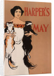 Harpers May, 1897 by Edward Penfield