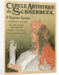 Artistic Club of Schaerbeek, 5th annual show, 1897 by Henri Privat-Livemont