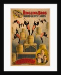 Ringling Bros, worlds greatest shows Raschetta brothers, marvelous somersaulting vaulters, c. 1900 by Courier Company Lith.