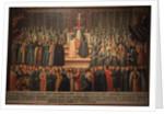 The betrothal in absentia of Marina Mniszech and False Demetrius in Krakow on 12 November 1605, Earl by Szymon Boguszowicz