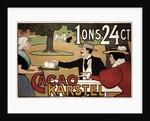 Cacao Karstel, 1897 by Johann Georg van Caspel
